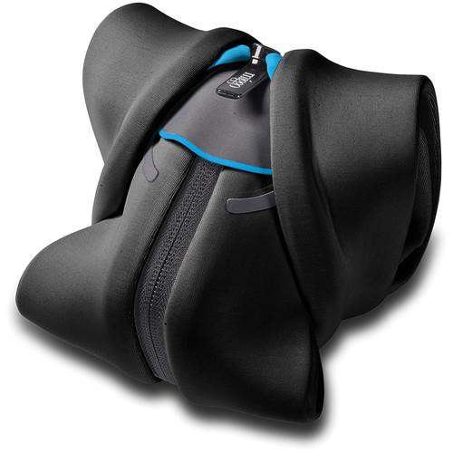 miggo Strap and Wrap for DSLR Cameras (Black and Blue)