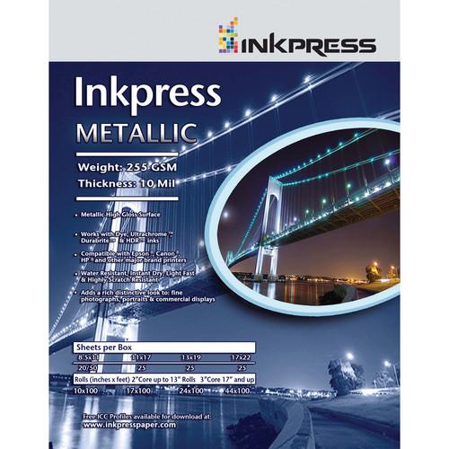 "Inkpress Media Pro Silky Paper (13 x 19"", 25 Sheets)"