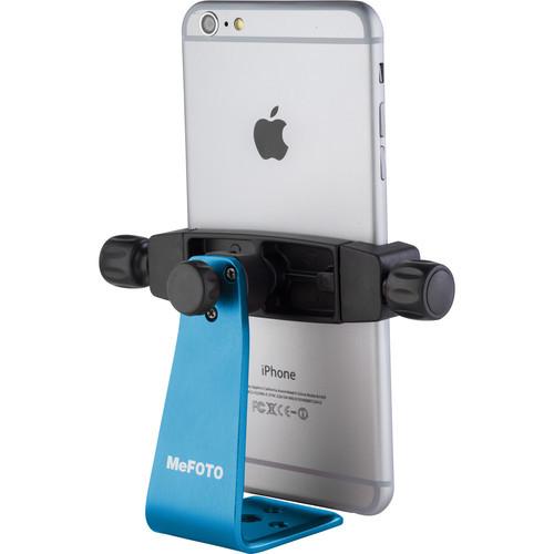 MeFOTO SideKick360 Plus Smartphone Tripod Adapter (Blue)