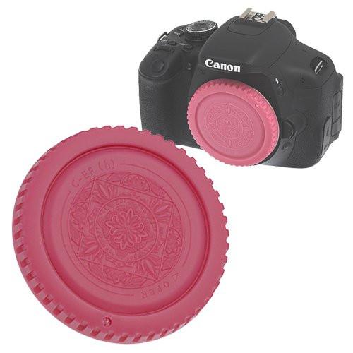Fotodiox Designer Body Cap for Canon EOS, Pink