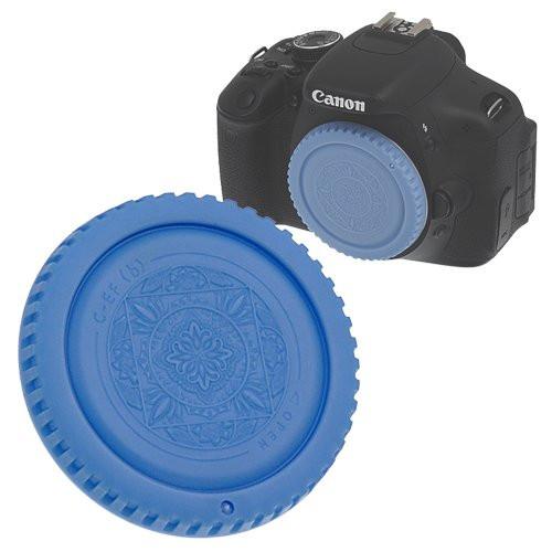 Fotodiox Designer Body Cap for Canon EOS, Blue