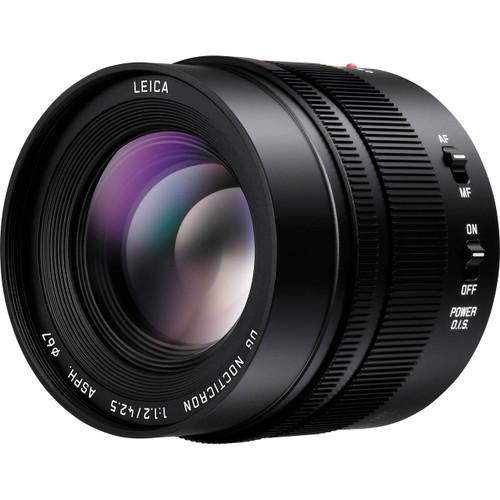 LUMIX 42.5mm f/1.2 ASPH G Leica DG Nocticron Power OIS Lens