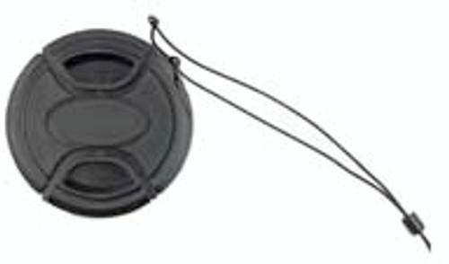 52Mm Pinch Snap Lens Cap W/ Leash