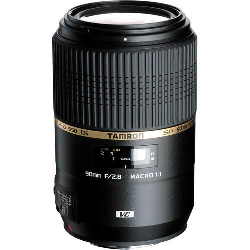 Tamron SP 90Mm F/2.8  Di MACRO 1:1 VC USD For Nikon