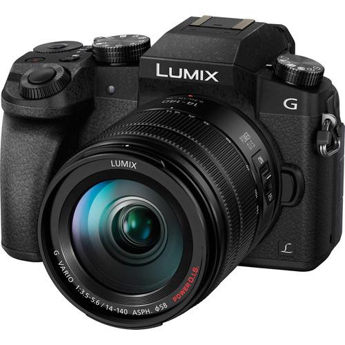 PANASONIC Lumix DMC-G7HK /14-140mm Lens,