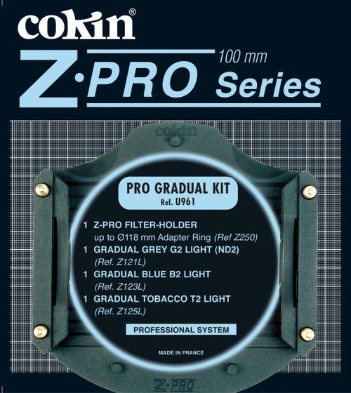 Cokin - Z-PRO Grade Filter Kit-ND2,B2 LIGHT, T2 LI
