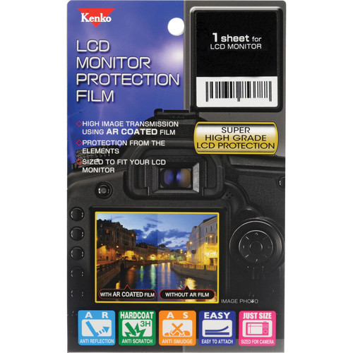 Kenko LCD Monitor Protection Film for the Panasonic Lumix GH3 / GH4 Camera