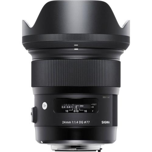 Sigma 24mm f/1.4 DG HSM Art Lens for Canon EF