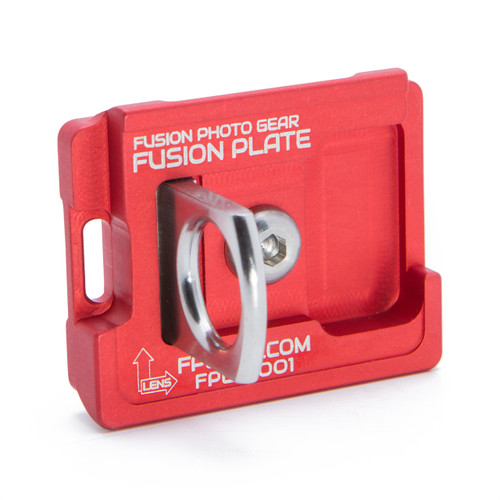 Fusion Plate Manfrotto RC2 / 200PL (Red)