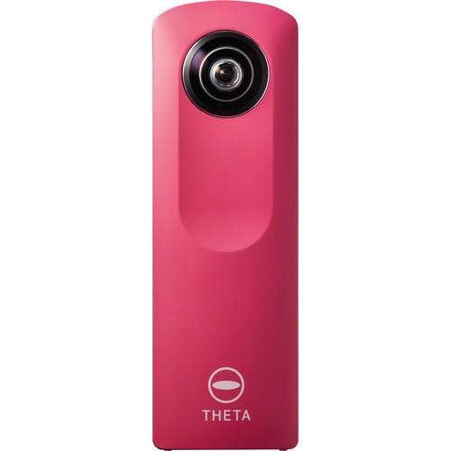 Ricoh Theta m15 Spherical Digital Camera (Pink)