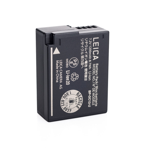 Leica BP-DC 12 Lithium-Ion Battery for Leica Q Typ 116 Digital Camera (7.2V, 1200mAh)