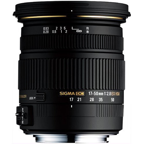 17-50mm f/2.8 EX DC HSM for Sony/Minolta