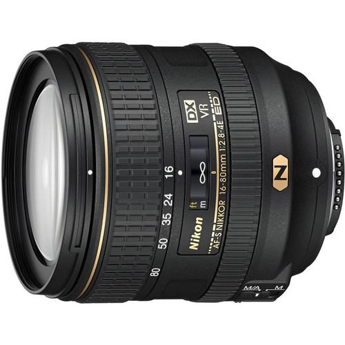 Nikon AF-S DX NIKKOR 16-80mm f/2.8-4E ED VR Nano Lens