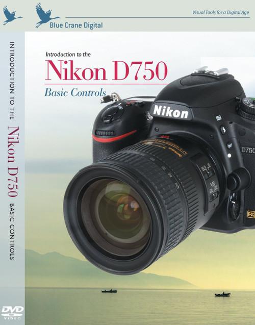 Blue Crane zBC161 Nikon D750: Basic Controls (White)