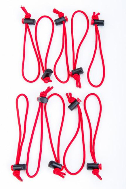 Think Tank 965 Red Whips Adjustable Cable Ties (10 Pack)