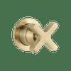 ABI Interiors ABI Cross Progressive Mixer – Brushed Brass