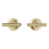 ABI Interiors ABI Barre Assembly Taps - Brushed Brass