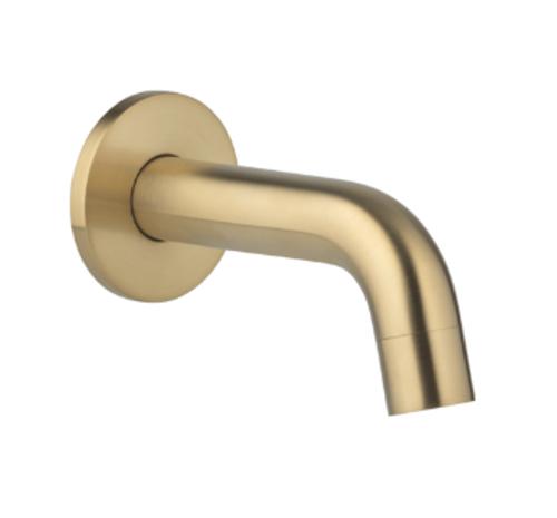 ABI Interiors ABI Mini Wall Mounted Spout - Brushed Brass