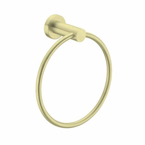 Nero Tapware Nero Mecca Towel Ring - Brushed Gold