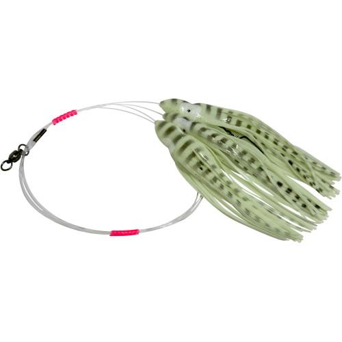 Daisy Chain Leader - Glow in Dark Green with Black Tread Stripes