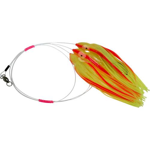Daisy Chain Leader - Yellow & Orange Stripe