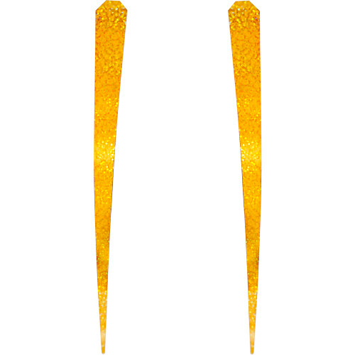 Lure Wings Gold Sparkle