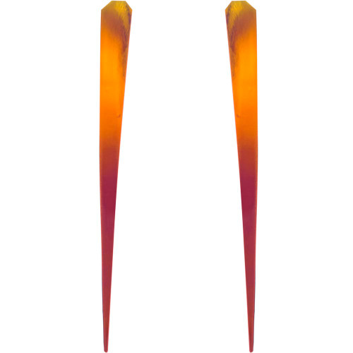 Lure Wings gold, yellow, red, purple