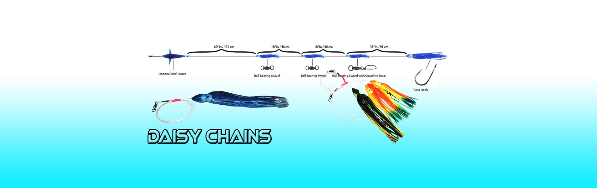 "25 HOOCHIE SQUID OCTOPUS SKIRTS 3/"" FISHING SKIRT CHART TEASER JIG TROLLING LURE"