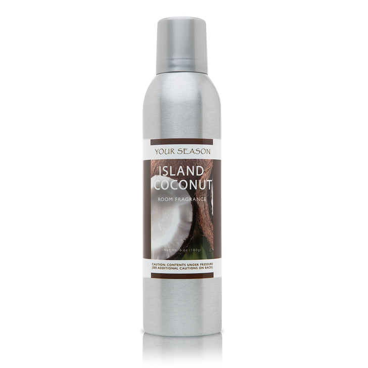 Your Season Island Coconut Room Fragrance Made With Essential Oils