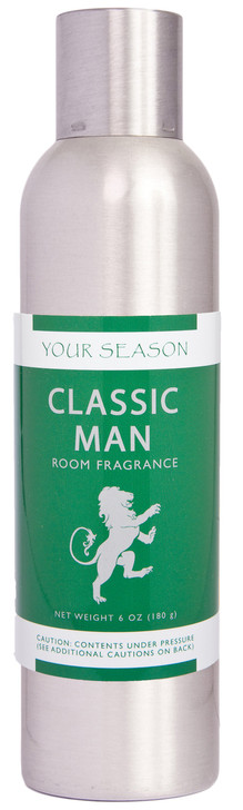 Your Season Classic Man Room Fragrance Made With Essential Oils