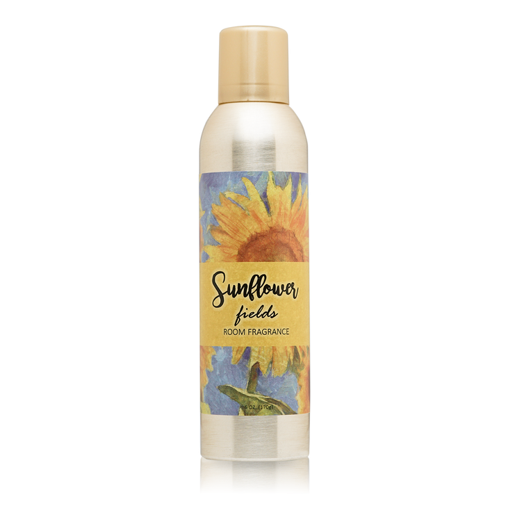 Sunflower Fields Room Fragrance with Essential Oils