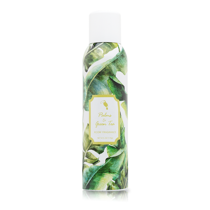 Palms & Green Tea Home Fragrance with essential oils.