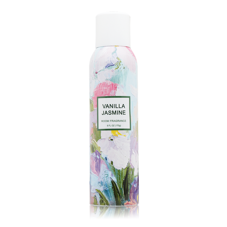 Vanilla Jasmine Home Fragrance with essential oils.