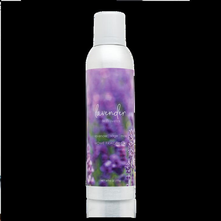 6 oz. Lavender de Provence, home fragrance spray with essential oils.