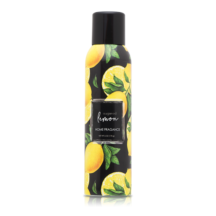 6 oz. Sugared Lemon Home Fragrance with essential oils.