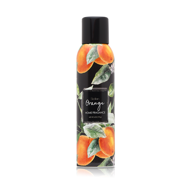 6 oz. Sicilian Orange Home Fragrance with essential oils.