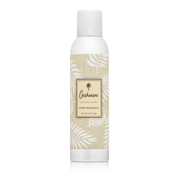 6 oz. Cashmere & Amber Home fragrance with essential oils.