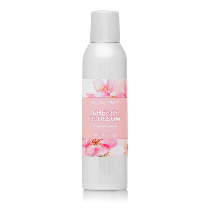 Belfair Oaks, Cherry Blossom Room Fragrance with essential oils.