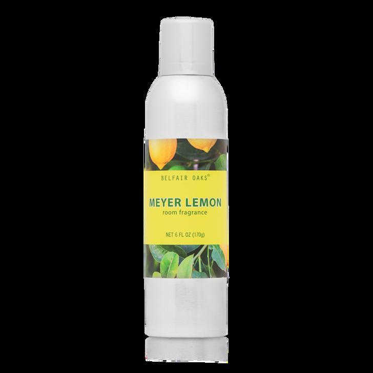 Belfair Oaks, Meyer Lemon room fragrance with essential oils.