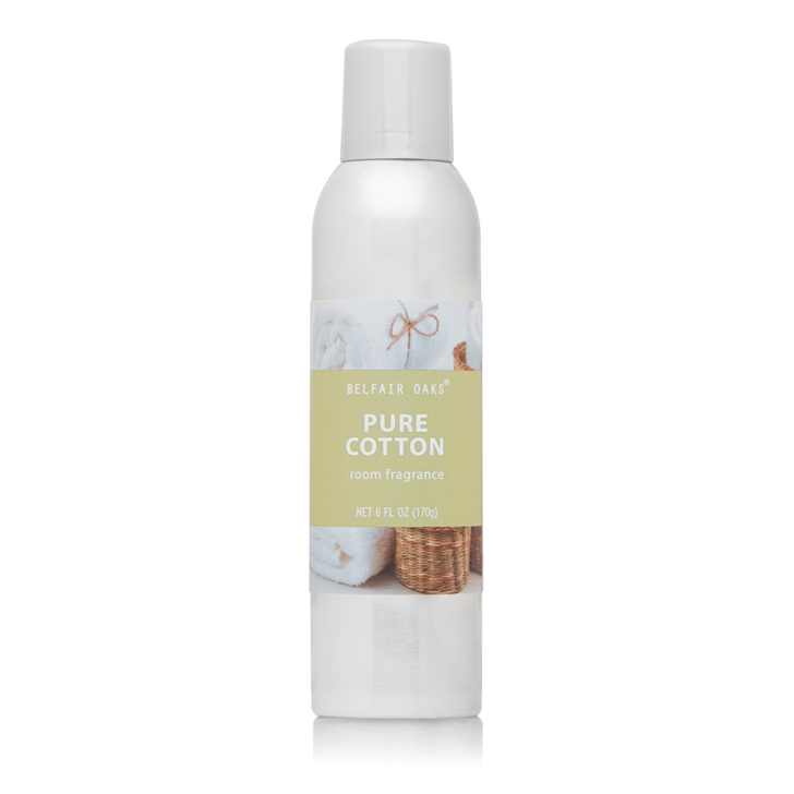 Belfair Oaks, Pure Cotton room fragrance with essential oils.