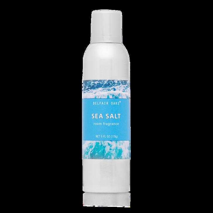 Belfair Oaks, Sea Salt Room Fragrance, with essential oils.