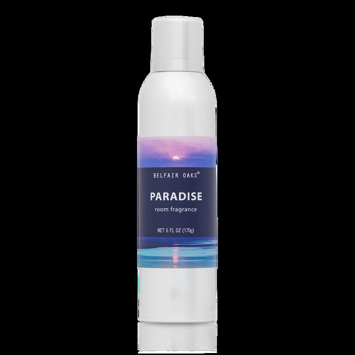6 oz. Belfair Oaks, Paradise Room Fragrance, with essential oils.