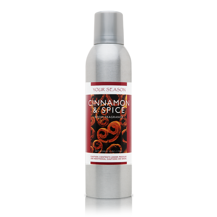 Your Season Cinnamon and Spice Room Fragrance Made With Essential Oils