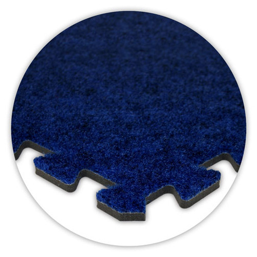 Soft Carpet Royal Blue Flooring