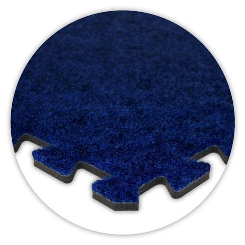 Soft Carpet Royal Blue Flooring