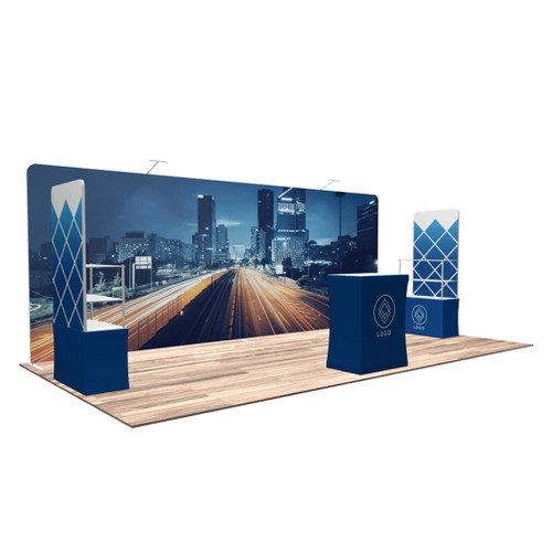10'x20′ Quick-N-Fit Booth – Kit 1219