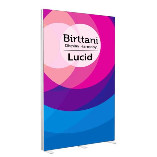 Lucid 5 | Single-sided illuminated backlit display Package