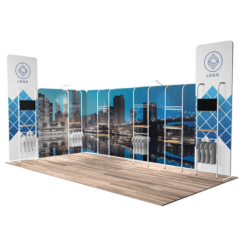 10'x20′ Quick-N-Fit Booth – Kit 1220