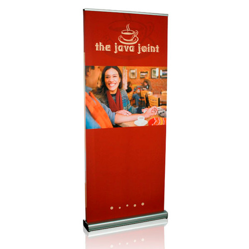 MediaScreen 2 Double-Sided Indoor Retractable Fabric Banner