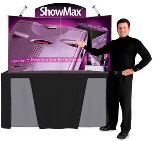 ShowMax Tabletop Display